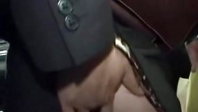 Blond groped to orgasm on bus